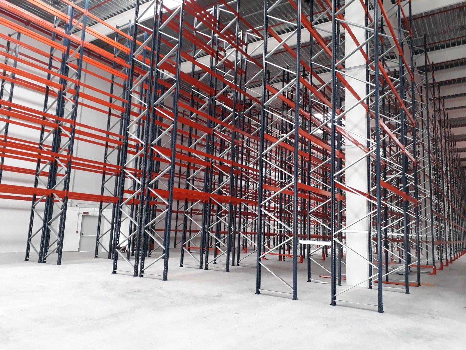 Scaffalature Portapallet Roma.Montaggio Scaffalature Industriali Consorzio Soluzione